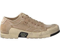 Beige Yellow Cab Sneaker MUD 302