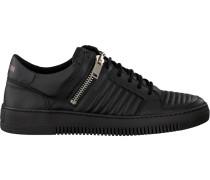 Schwarze Sneaker Mmfw00907