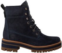 Blaue Timberland Ankle Boots Courmayeur Valley YB