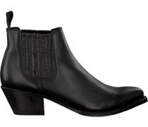 Schwarze Sendra Chelsea Boots 15841