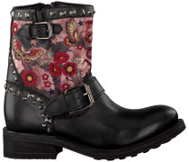 Schwarze Ash Biker Boots Triana Destroyer