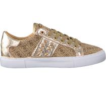 Beige Guess Sneaker Flgam1 Fal12
