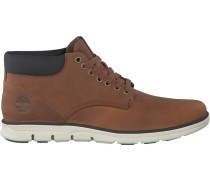 Cognacfarbene Ankle Boots Chukka Leather