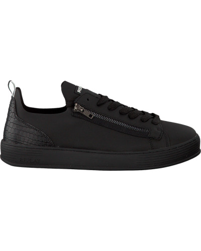 Rabatt Verkauf Replay Herren Schwarze Replay Sneaker Barrow Am Billigsten XCB17CBl5