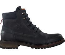 Blaue Ankle Boots Newea High TMB M