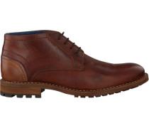 Cognacfarbene Omoda Ankle Boots Omoda 627
