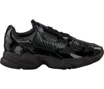 Schwarze Adidas Sneaker Falcon WMN