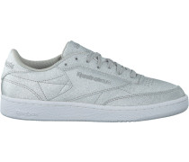 Silberne Reebok Sneaker Club C 85 WMN