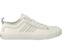 Weiße Diesel Sneaker S-astico Low Lace