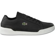 Schwarze Lacoste Sneaker Challenge