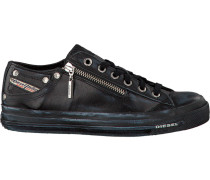 Schwarze Diesel Sneaker Magnete Exposure WMN