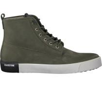 Grüne Blackstone Sneaker Qm80