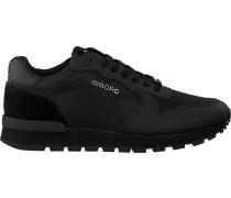 Schwarze Bjorn Borg Sneaker R605 Low Kpu M