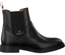 Schwarze Gant Chelsea Boots Ashley Chelsea