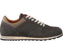Graue Van Lier Business Schuhe 1857202