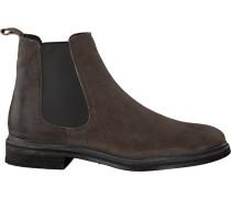 Braune Goosecraft Chelsea Boots Chet Chelsea