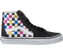 Schwarze Vans Sneaker Ua Sk8-hi Women