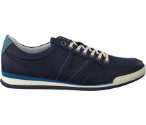Blaue Van Lier Sneaker 7452