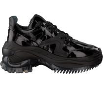 Schwarze Bronx Sneaker Chainy