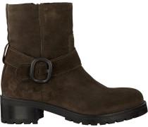 Grüne Via Vai Biker Boots 4902042