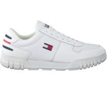 Tommy Hilfiger Sneaker Low Essential Retro Weiß Herren