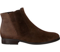 Braune Gabor Chelsea Boots 660