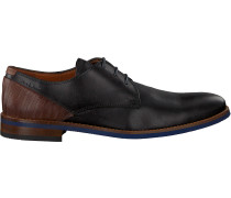 Schwarze Van Lier Business Schuhe 1915310