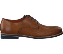 Cognacfarbene Van Lier Business Schuhe 1855601