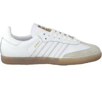 Weiße Adidas Sneaker Samba Dames