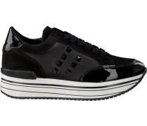 Schwarze Omoda Sneaker Leanstud Sneaker