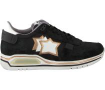 Schwarze Atlantic Stars Sneaker Pegasus