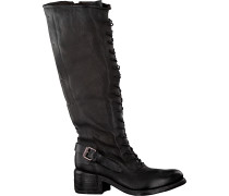 Schwarze A.s.98 Hohe Stiefel 548301
