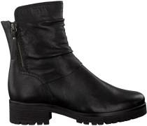 Schwarze Gabor Biker Boots 92.092.27