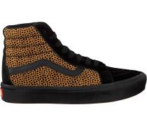 Schwarze Vans Sneaker Ua Comfycush Sk8-hi Reissue Wo