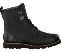 Schwarze UGG Ankle Boots Hannen TL