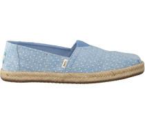 Blaue Toms Espadrilles Alpargata 10013520