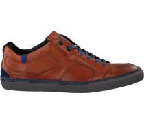 Cognacfarbene Floris Van Bommel Sneaker 14422