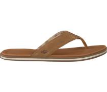 cognac UGG shoe Beach Flip