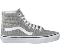 Graue Vans Sneaker Ua Sk8-hi Women