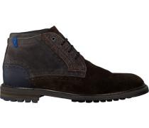 Braune Floris Van Bommel Ankle Boots 10978