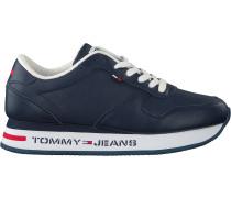 Tommy Hilfiger Sneaker Low Flatform Runner Blau Damen