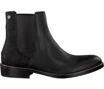Schwarze Chelsea Boots P1285Olly 10C