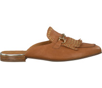 Cognacfarbene Pedro Miralles Loafer 18036