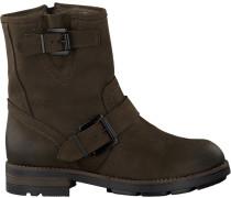 Braune Omoda Biker Boots 8525