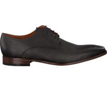 Graue Van Lier Business Schuhe 6000