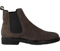 Braune Goosecraft Chelsea Boots Chet Crepe Chelsea