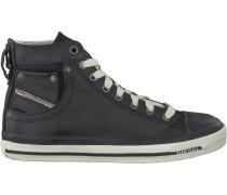 Schwarze Diesel Sneaker Magnete Exposure