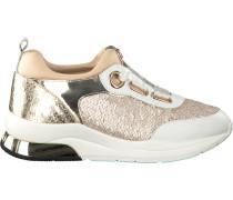 Goldfarbene Liu Jo Sneaker Running Cara