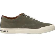 Grüne Sneaker Heritage Suede Sneaker