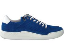 Blaue Van Lier Sneaker 7574